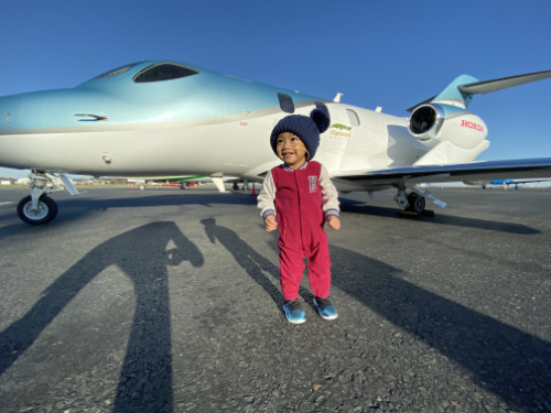 iOptimize Realty® uses their corporate jet for charity flight for 2 year old, open heart patient.